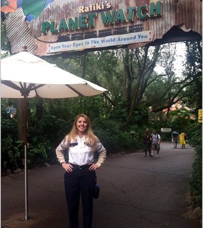 Working at Animal Kingdom