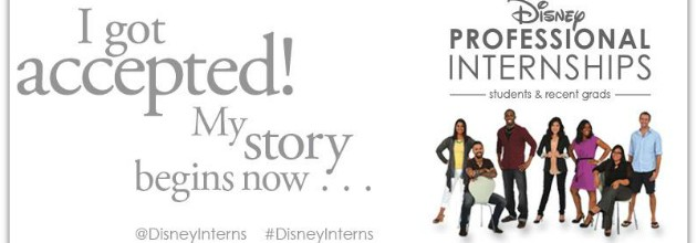 Disney Professional Internship Spring 2014 Applications