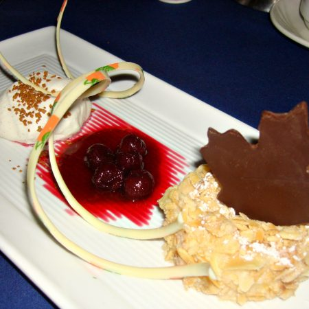 Narcoossee Almond Crusted Cheesecake at Disney