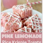 Pink Lemonade Rice Krispie Treats Recipe