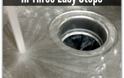 Clean Your Garbage Disposal In Three Easy Steps