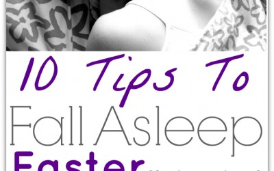 fall asleep faster