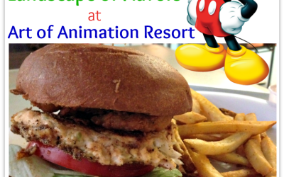 Disney Food Review | Landscape of Flavors At Art of Animation Resort