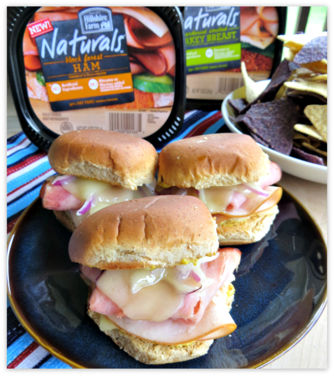 Cordon Bleu Turkey Sliders