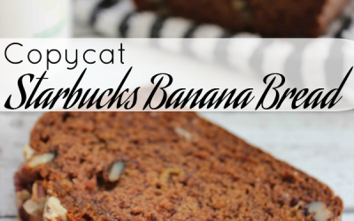 Starbucks Banana Bread Copycat Recipe