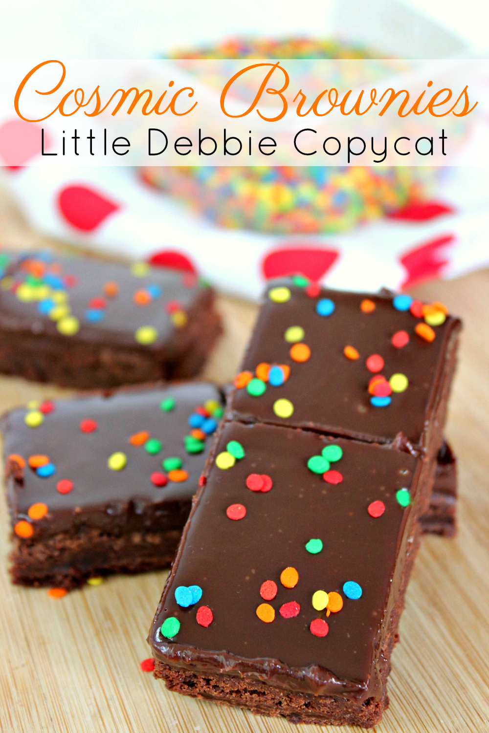 Cosmic Brownies Little Debbie Copycat Recipe