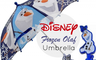 Over Half off this Disney Frozen Olaf Umbrella +3D Handle