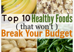 affordable healthy foods