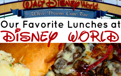 Our Favorite Lunchtime Meals at Walt Disney World