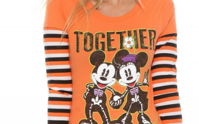FUN! Glow in the Dark Women's Disney Halloween T-Shirt