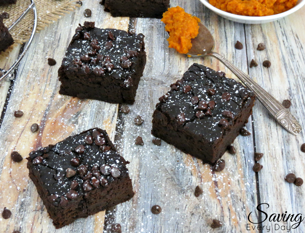 Black Bean Brownies and Pumpkin Recipe