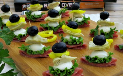 Antipasto Salad Bites | Perfect Snack for Game Day