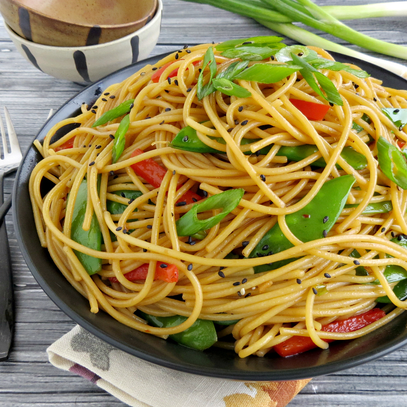 Simple Sesame Noodle Recipe