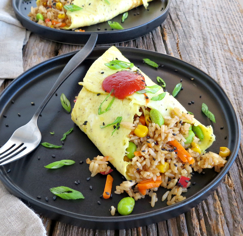 Fried Rice Omelette