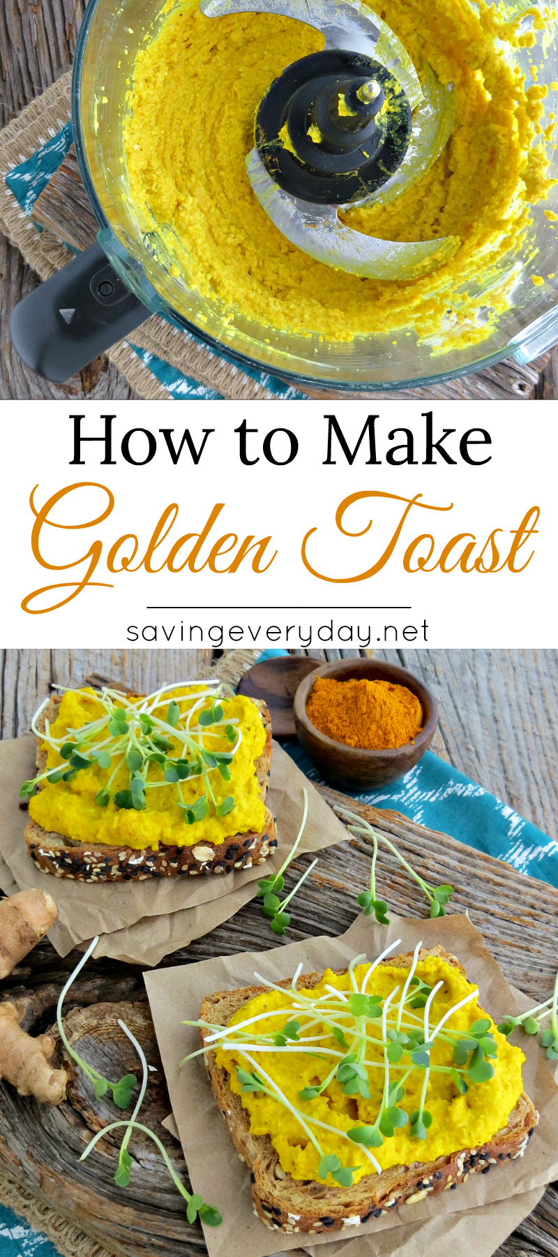 How to Make Golden Toast Pinterest