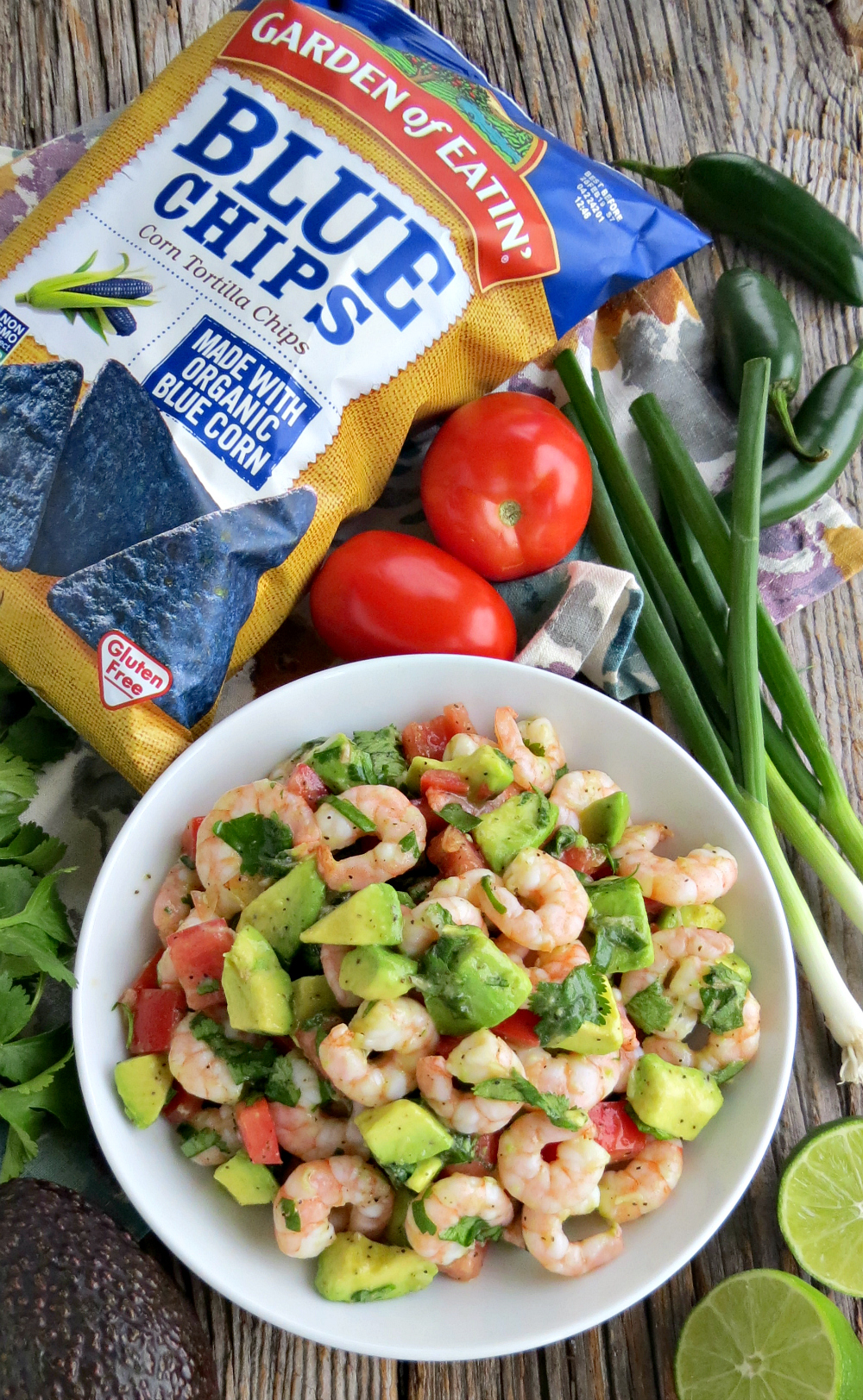 Shrimp Salad with Avocado and Lime Gluten Free