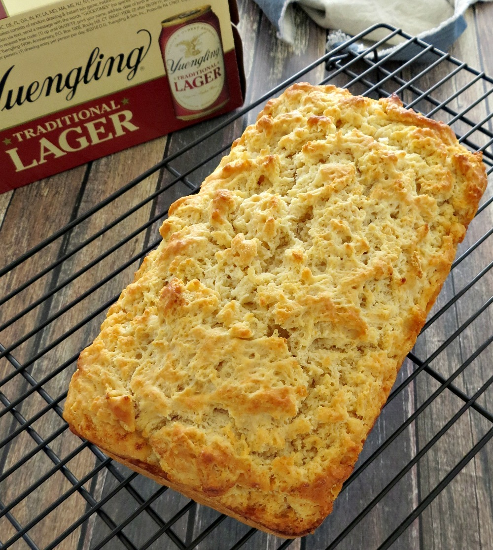 Easy Beer Bread with Yuengling