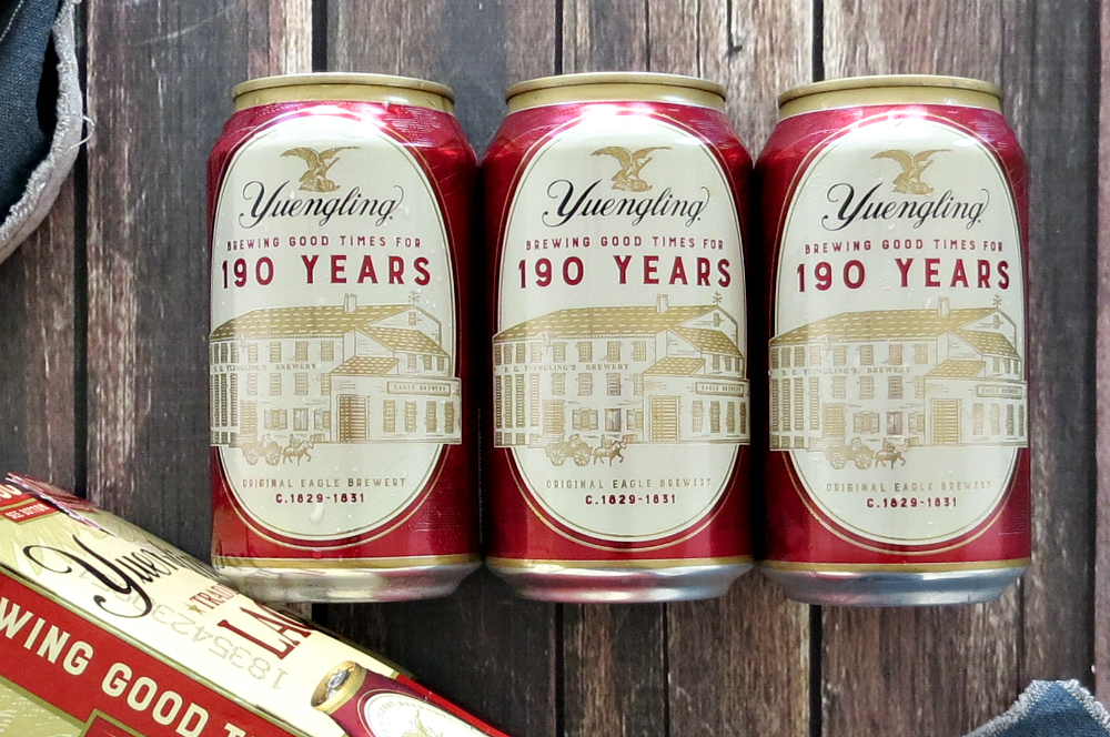Yuengling Commemorative Lager Cans