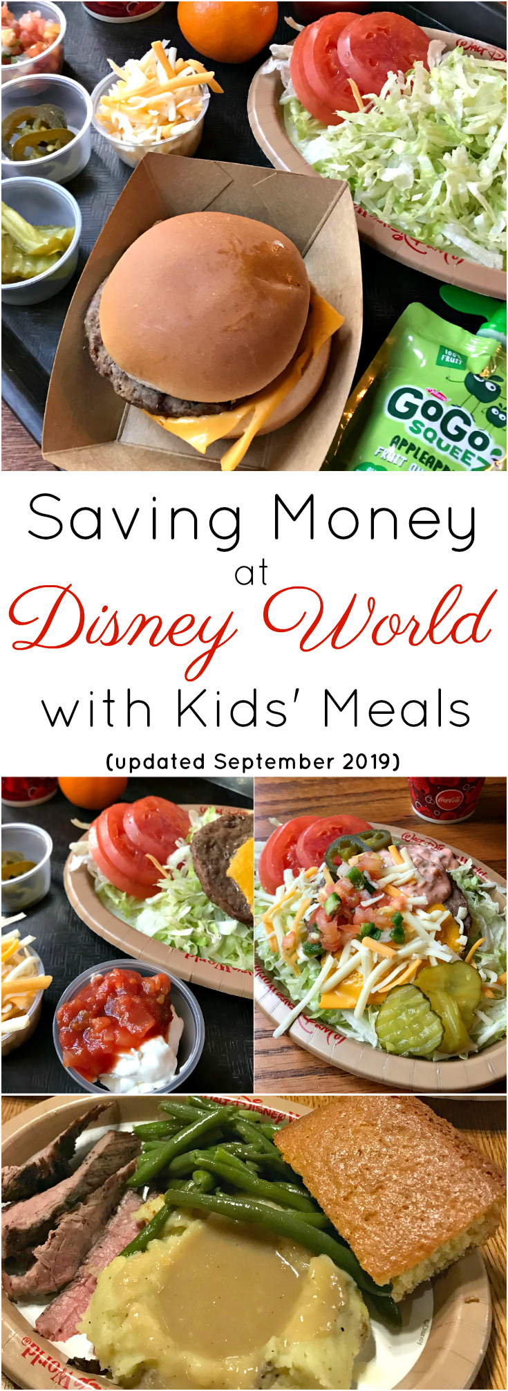 Saving Money at Disney with Kids Meals