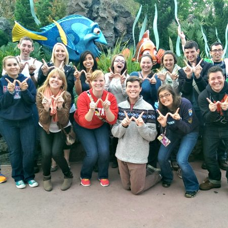 Working At Disney Friends All Over The World
