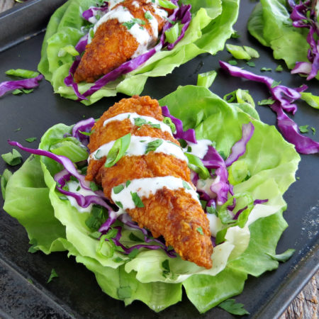 Hot Chicken Tacos